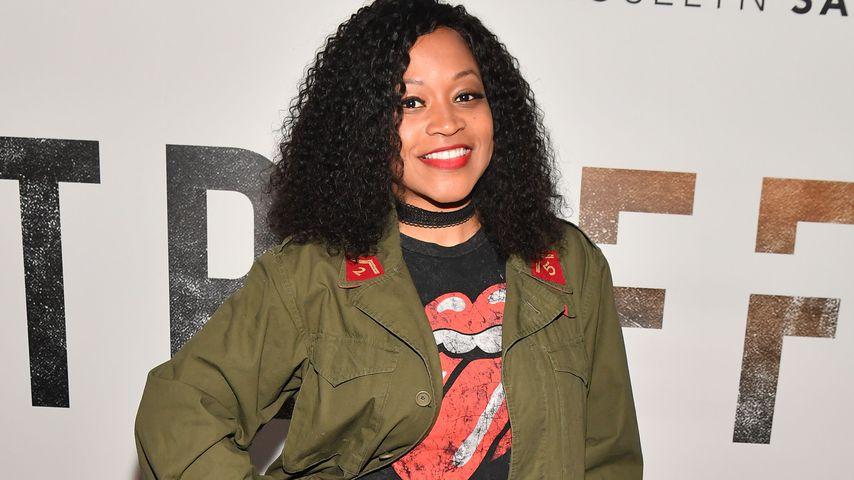 Monyetta Shaw bei einer Filmvorführung in Atlanta im April 2018