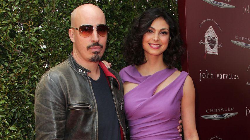 Morena Baccarin und Austin Chick auf dem Roten Teppich in LA