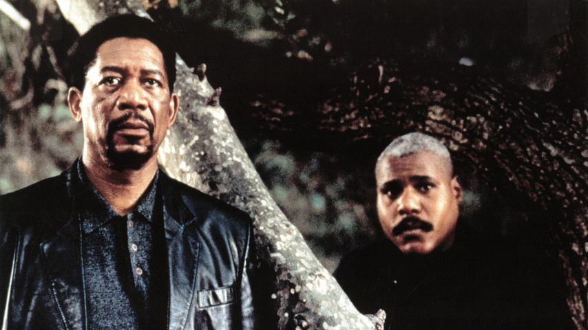 "Morgan Freeman und Bill Nunn im Film ""Kiss the Girls"""