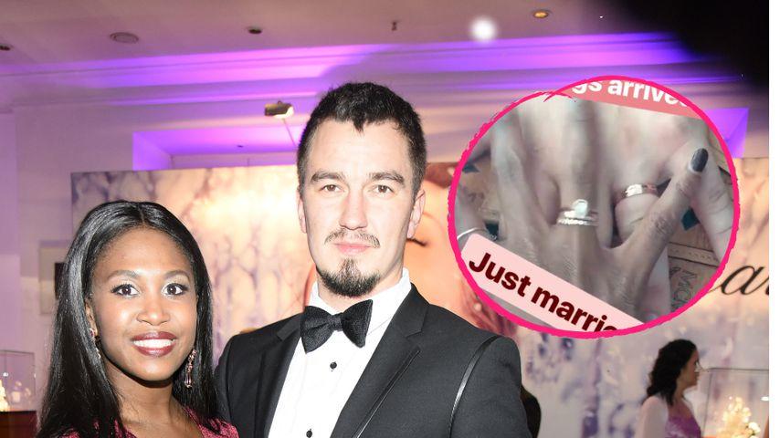 Nach einem Jahr Ehe: Motsi Mabuse hat endlich die Ringe!