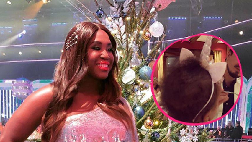 Kleiner Lockenkopf: Motsis Tochter als Weihnachts-Einhorn