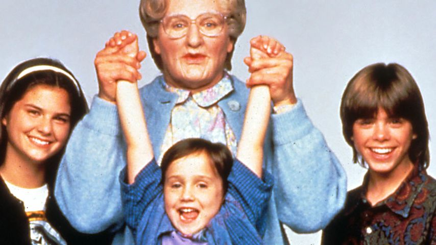 Robin Williams und Mara Wilson