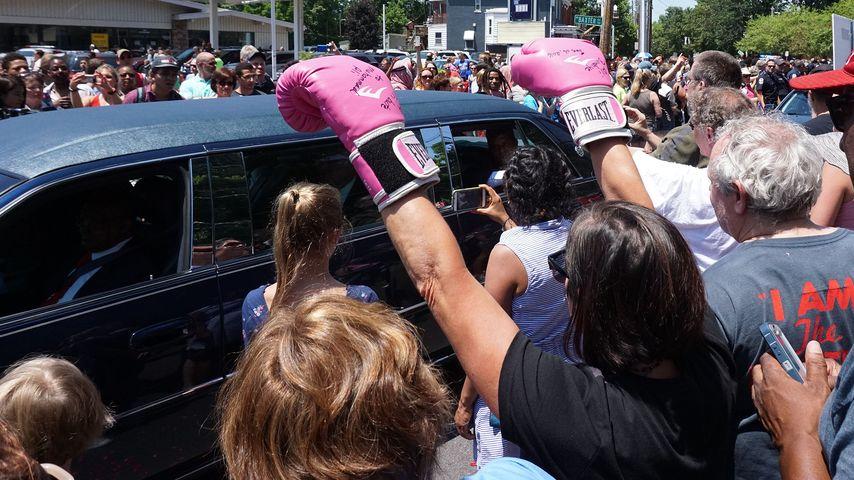 Muhammad Alis Beerdigung