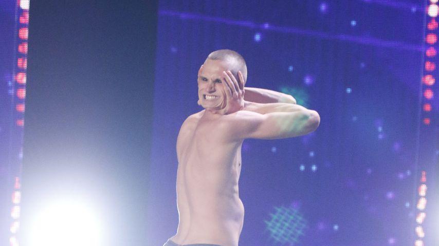 Krass! Dieser Supertalent-Kandidat verdreht Kopf um 180 Grad