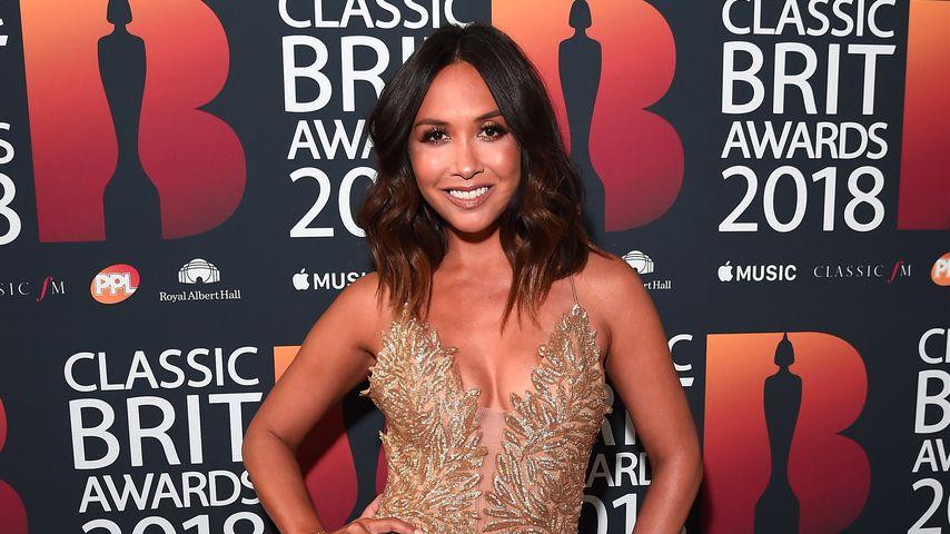 Myleene Klass bei den Classic Brit Awards 2018