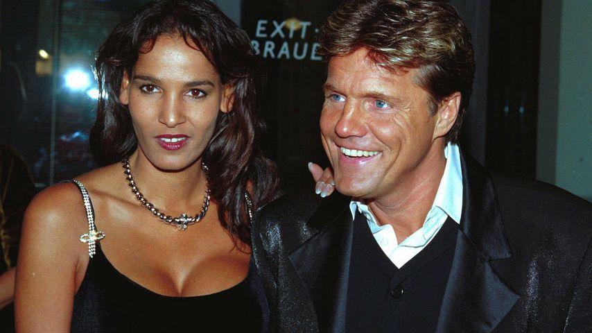 Naddel und ihr ehemaliger Lebensgefährte Dieter Bohlen