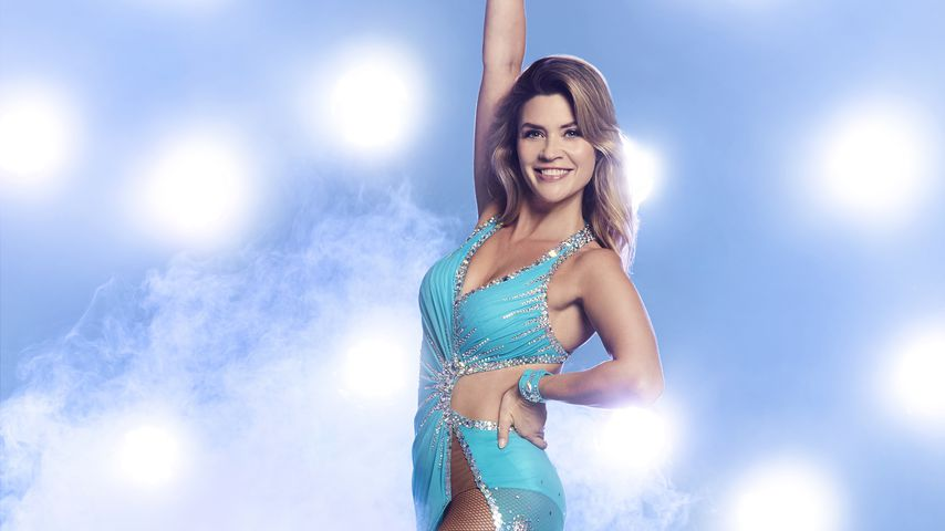 """Nadine Klein bei """"Dancing on Ice"""""""