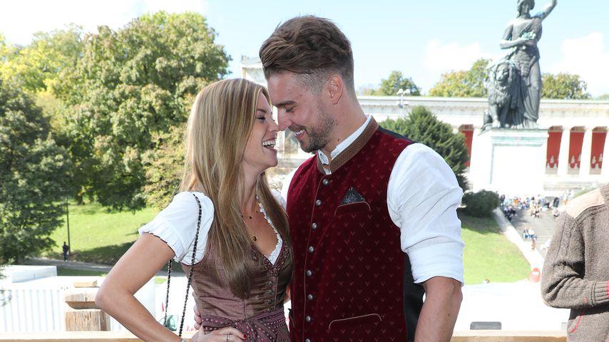 Nadine Klein und Alexander Hindersmann beim Oktoberfest