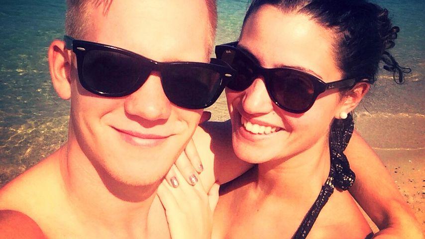 Total verknallt: GZSZ-Nadine Menz im Turtel-Urlaub