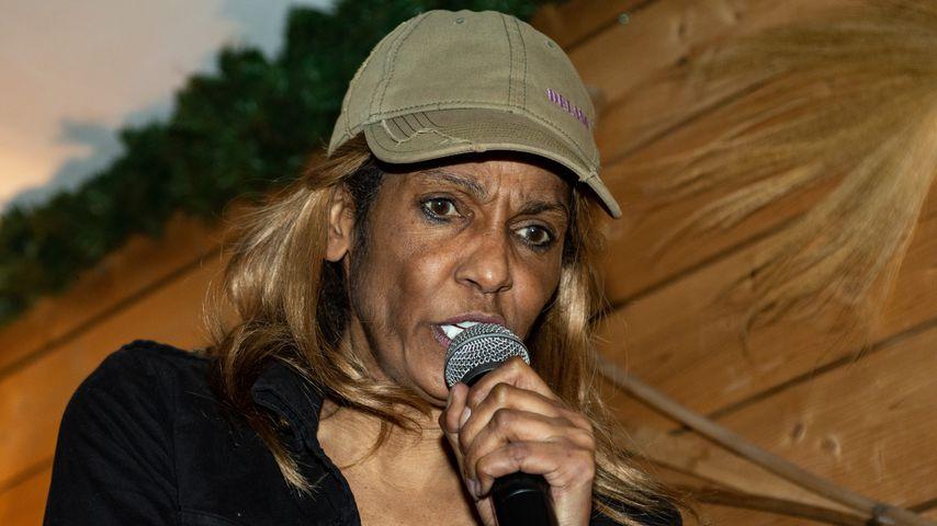 Nadja Abd el Farrag bei einem Auftritt in Krümels Stadl im April 2019