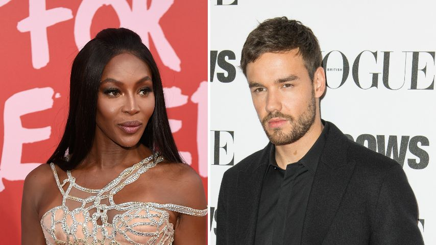 Collage: Naomi Campbell und Liam Payne