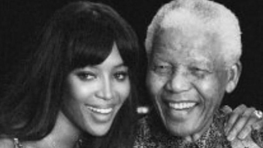 "2. Todestag: Naomi Campbell gedenkt ""Opa"" Nelson Mandela"