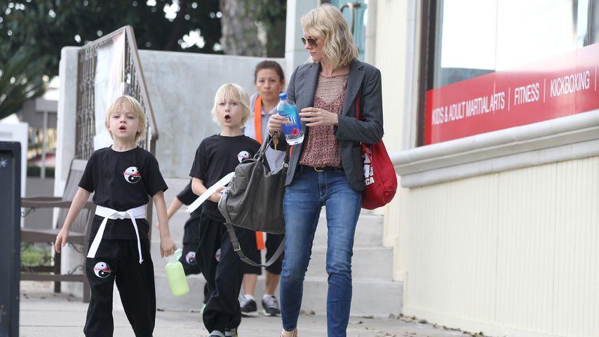 Karate Kids! Naomi Watts und ihre süßen Jungs