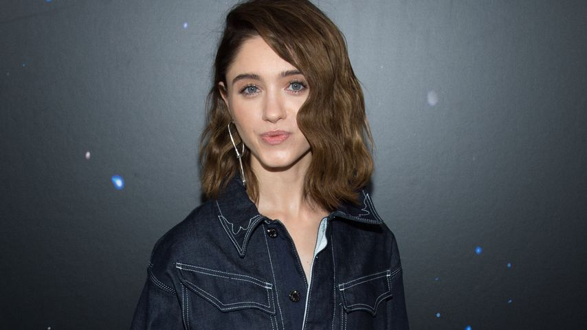 Natalia Dyer auf der New York Fashion Week 2018
