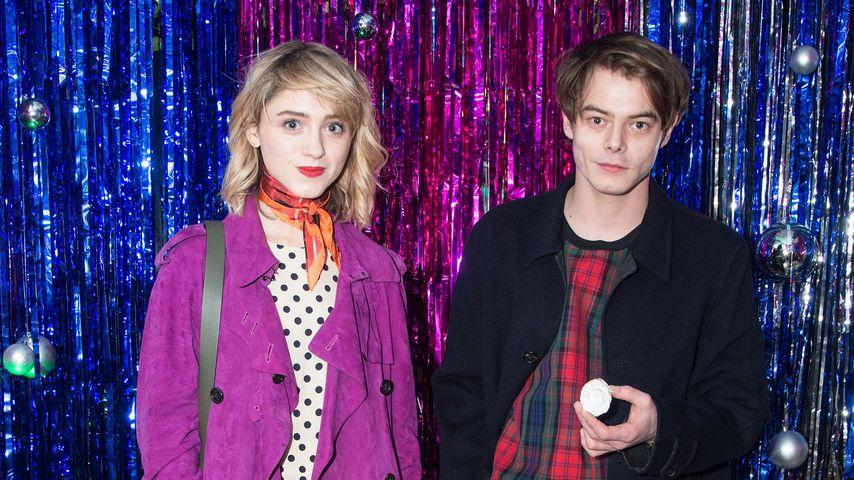 Natalia Dyer und Charlie Heaton