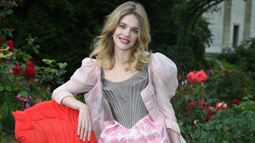 Natalia Vodianova auf der Paris Fashion Week 2016