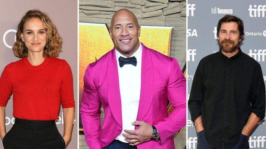 The Rock und Co.: So krass verwandeln Filmstars ihre Körper