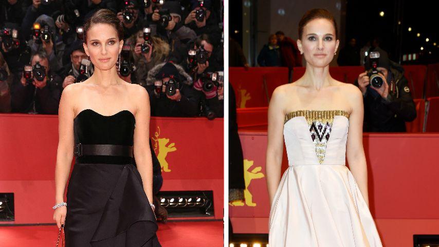 Natalie Portman glamourös trotz Express-Frisur!