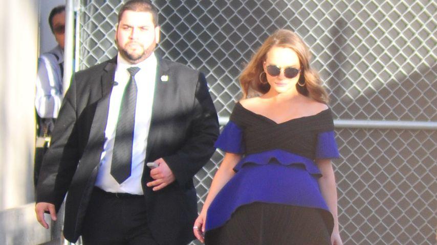 Schön schwanger: Natalie Portman zeigt ihren XXL-Babybauch