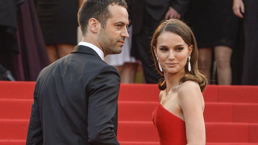 Natalie Portman mit ihrem Mann in Cannes
