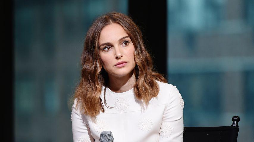 Natalie Portmann in einer Diskussionsrunde in New York