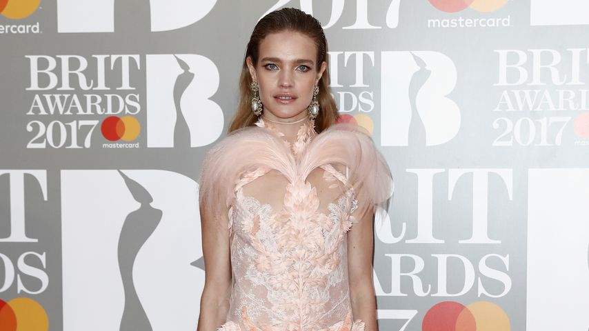 Model Natalja Wodjanowa bei den BRIT Awards 2017