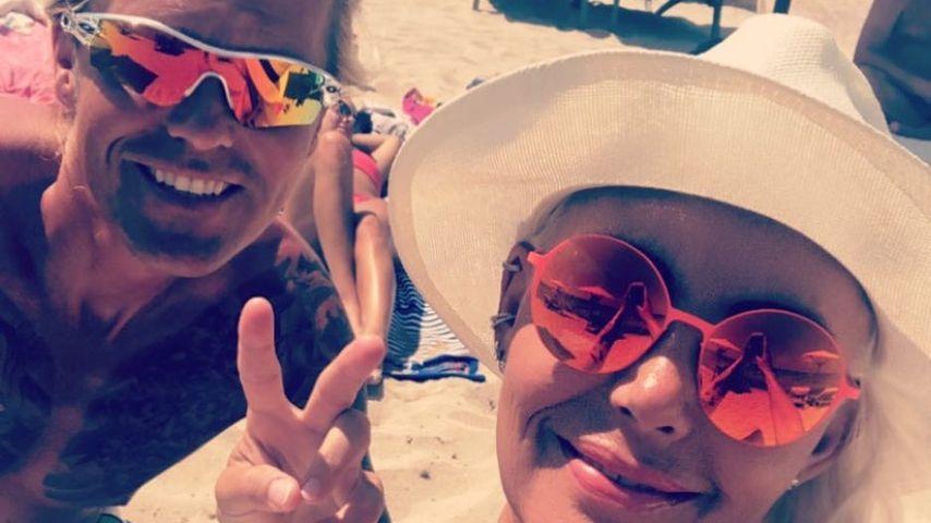 Natascha Ochsenknecht: Erstes Pärchen-Selfie mit ihrem Olli