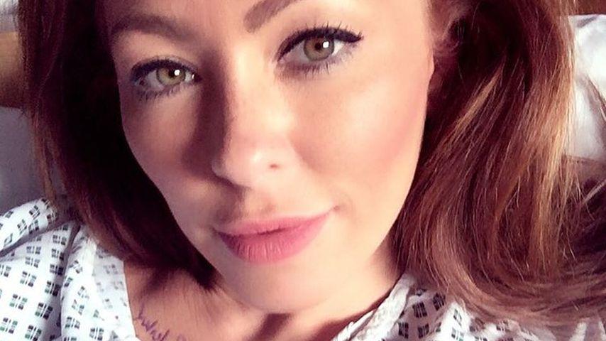 Mysteriöse OP: Natasha Hamilton grüßt aus dem Krankenbett