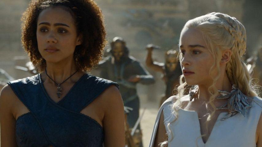 Emilia Clarke und Nathalie Emmanuel