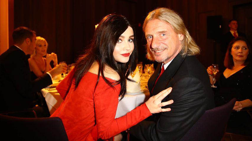 Nathalie Volk und Frank Otto bei den Herqul German Boxing Awards in Hamburg