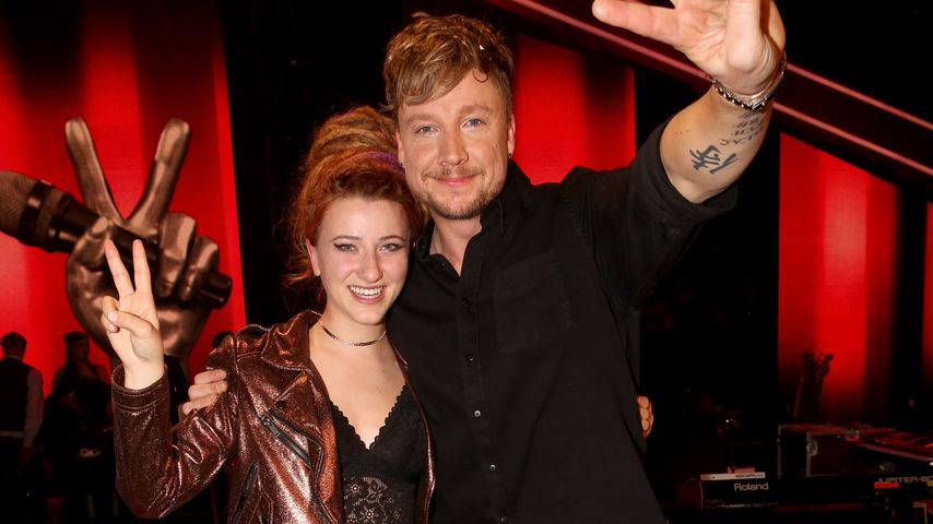 "Natia Todua und Samu Haber nach ihrem ""The Voice of Germany""-Sieg 2017"