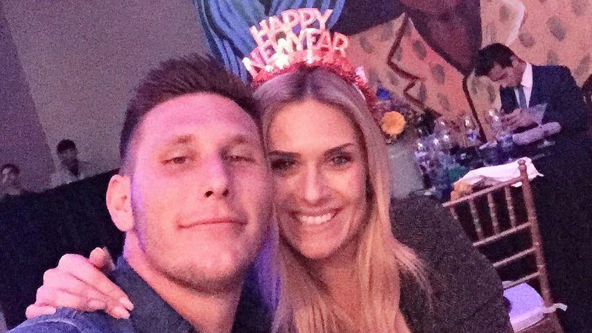 Nationalspieler Niklas Süle mit seiner Freundin Melissa