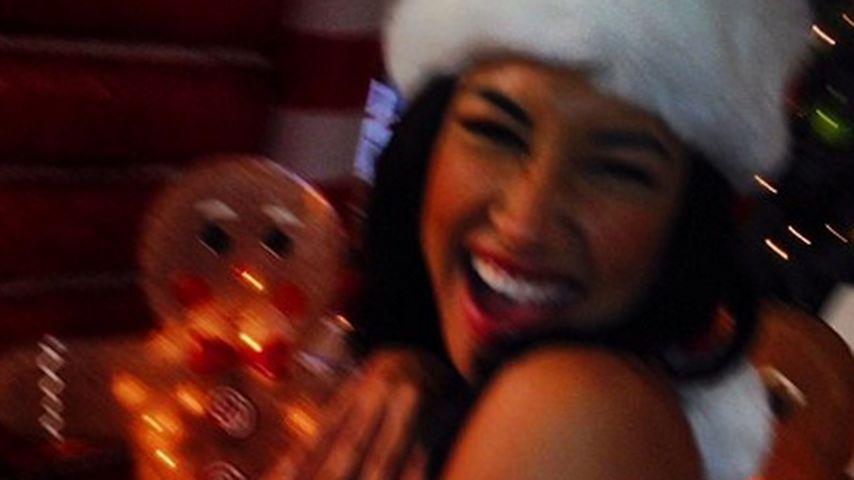 Wie süß: Naya Rivera im Weihnachtsfieber