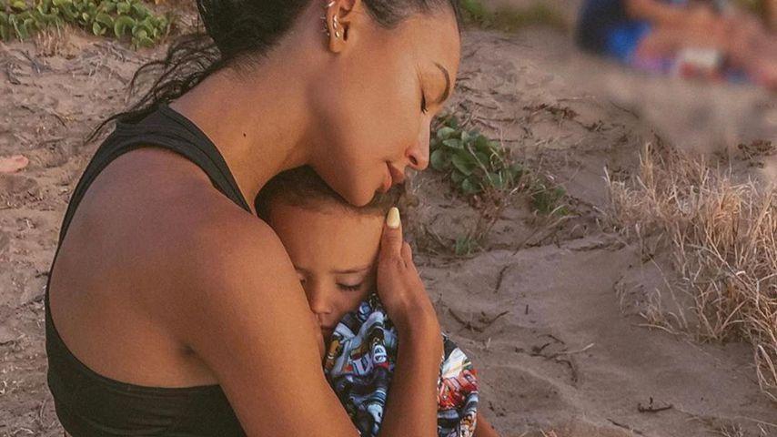 Naya Rivera mit ihrem Sohn Josey