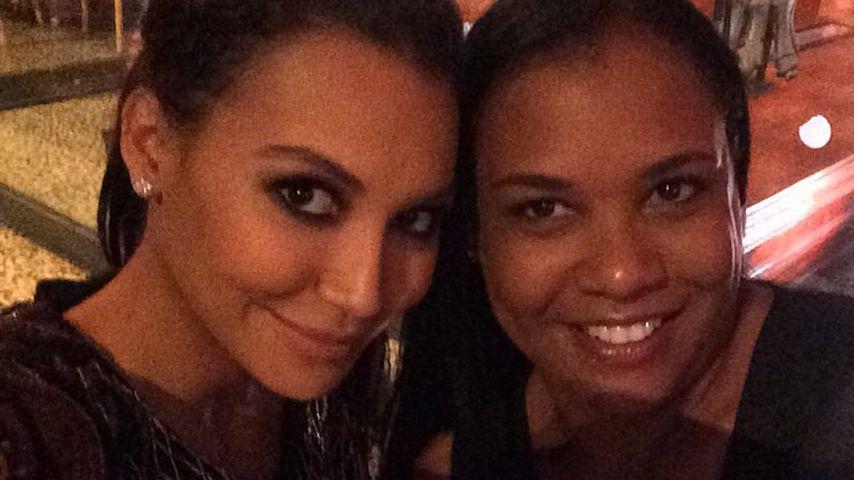 Naya Rivera mit ihrer Mutter Yolanda, 2015