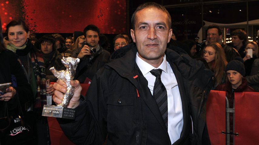 Nazif Mujic bei der Berlinale 2013