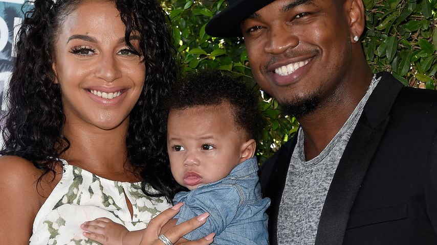 Ne-Yo, Crystal Renay Smith und ihr Baby bei den Teen Choice Awards im Juli 2016