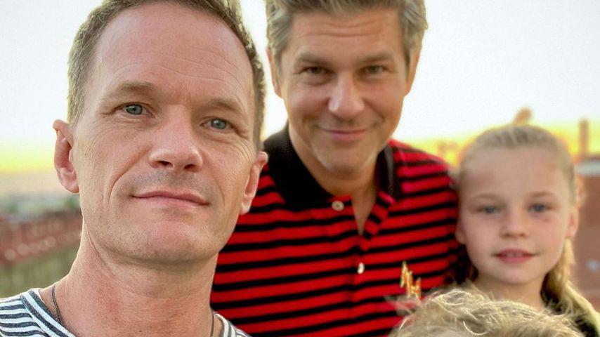 Neil Patrick Harris, David Burtka und ihre Kinder
