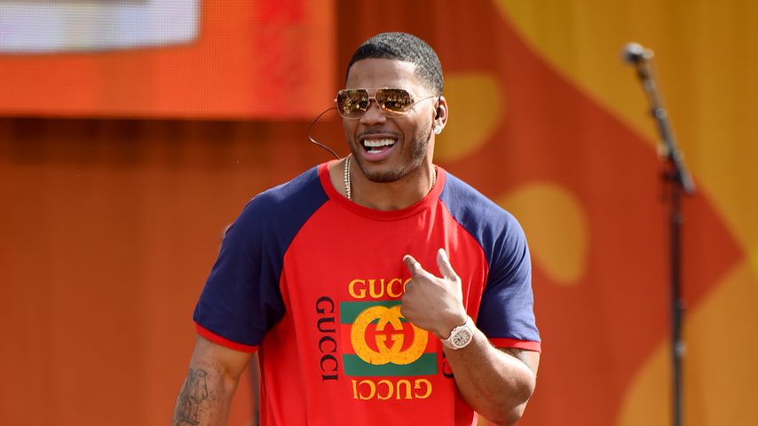 """Nelly bei """"Good Morning America"""", 2017"""