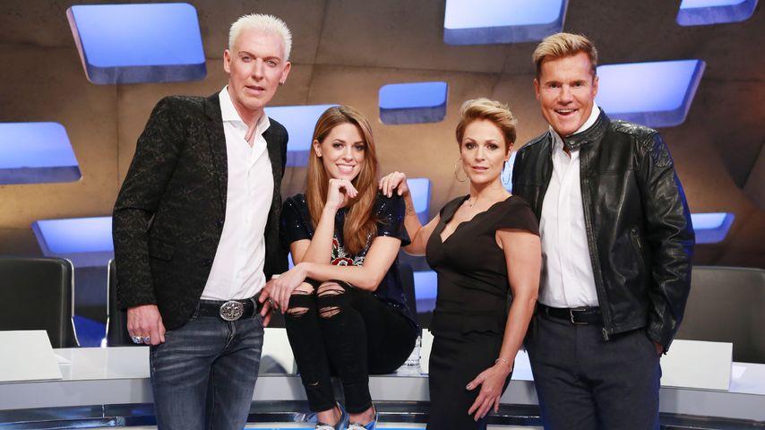 H.P. Baxxter, Dieter Bohlen, Vanessa Mai und Michelle