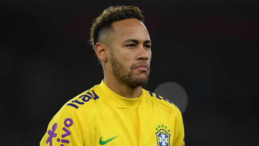 Neymar Jr. für die brasilianische Nationalmannschaft im November 2018