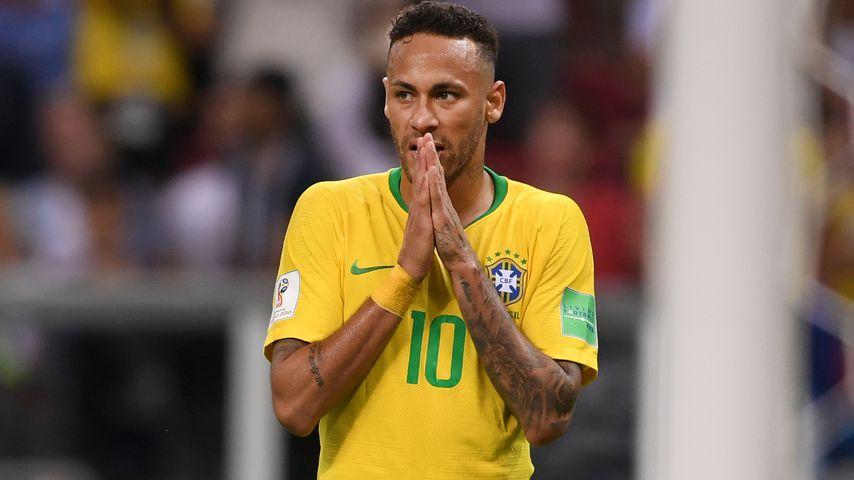 Brasilien-Nationalspieler Neymar beim Viertelfinalspiel gegen Belgien