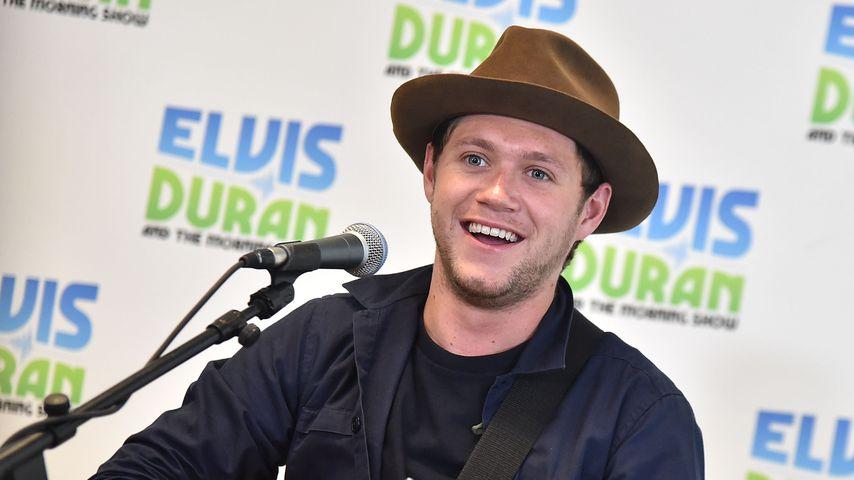 Niall Horan bei einer Radio-Show