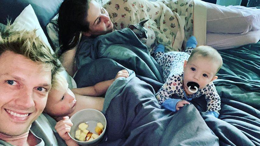 Nick Carter mit seiner Familie