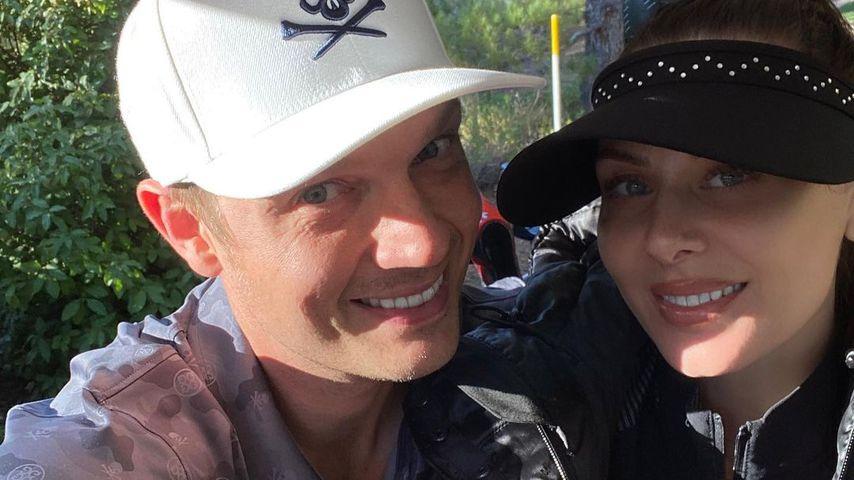 Nick Carter mit seiner Frau Lauren