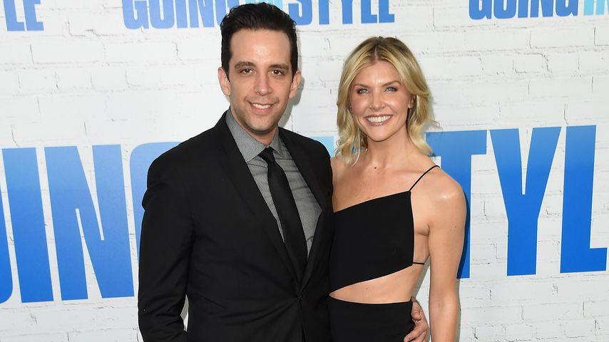 Nick Cordero und seine Ehefrau Amanda Kloots