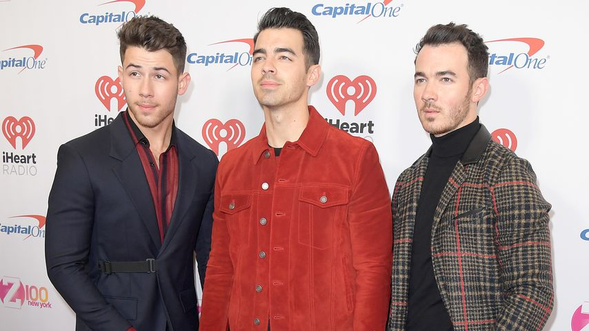 Nick, Joe und Kevin Jonas beim iHeartRadio's Z100 Jingle Ball 2019