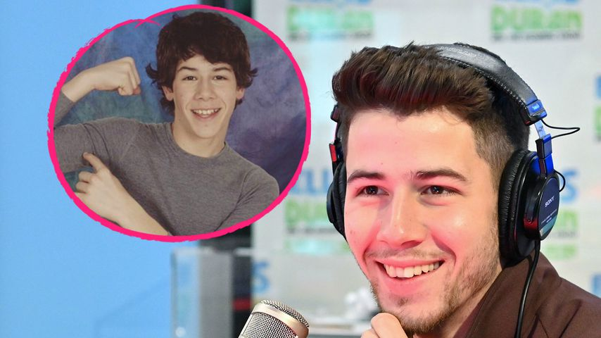 Süßer Throwback: Nick Jonas präsentiert seine Teen-Muckis!
