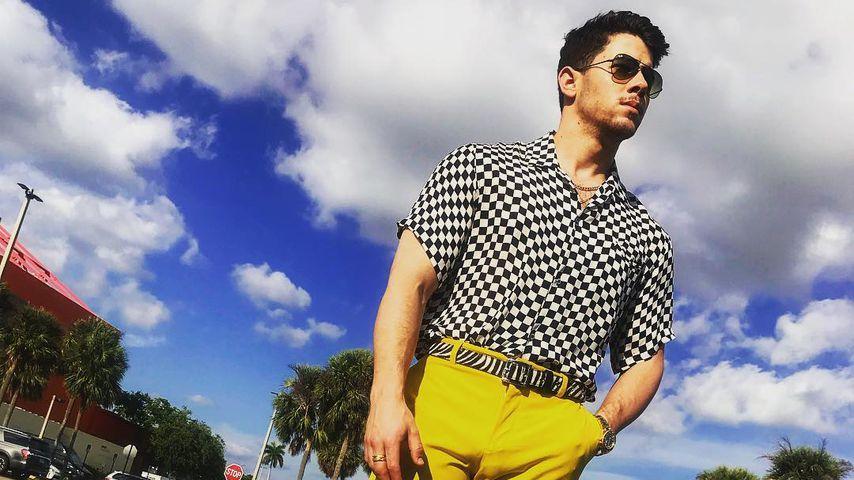Nick Jonas in Florida