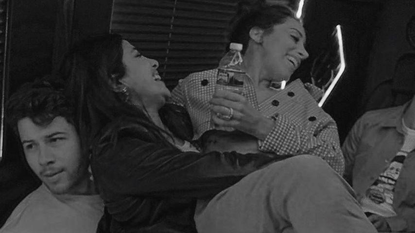 Nick Jonas, Priyanka Chopra und Danielle Jonas